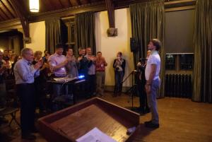 Konstantin Iablotckii receives standing ovation during keynote