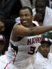 Jason Collins with the Atlanta Hawks in May 2012